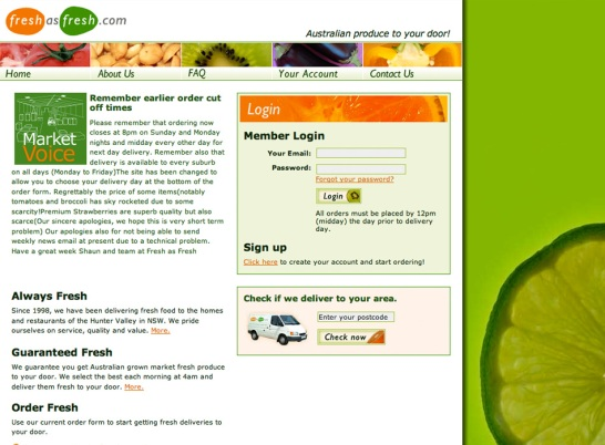 Freshasfresh.com.au Online Grocery Delivery