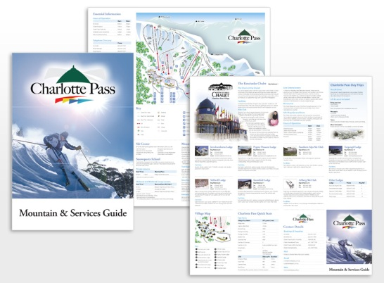 Charlotte Pass Trail Map and Mountain Guide