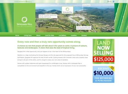 Spyglass Hill Estate Website Design and Maintenance