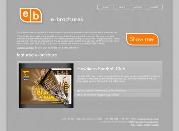 e-brochures Website Design and Development