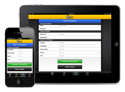 eWAY iPad and iPhone App Design