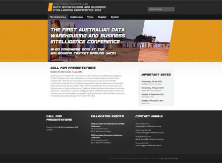 Event Website Design and Maintenance