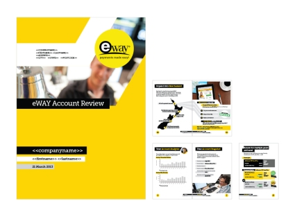 eWAY Promotional and Marketing Material