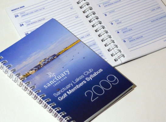 Sanctuary Lakes Membership and Promotional Material