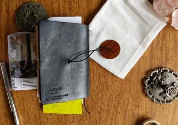Manifesto journal back cover. Photograph by Leonie Csanki. 2018.